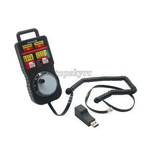 Details about CNC MACH3 Wireless Handwheel 4-Axis Manual Controller USB  Handle Pulse Generator