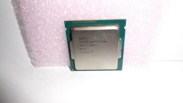 Intel Core i7-4770k 3.5GHz/ 3.9GHz TURBO Quad-Core -Perfect