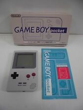 GB -- Game Boy Pocket Gray Console -- Box. Game Boy, JAPAN Nintendo. Work fully!