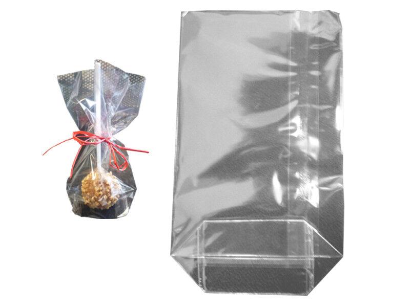 1000 Kreuzbodenbeutel Bodenbeutel Tüte 18x30x7,2 cm transparent (314300)