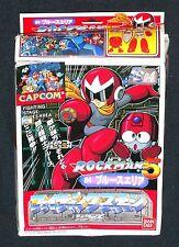 Rockman Fighting Stage-04 Blues Area Model Unused 1993 Bandai/Capcom Japan
