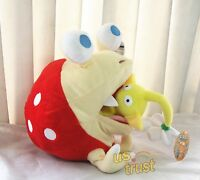 Pikmin Plush Doll Bulborb Chappy And Yellow Flower Soft Great Toy Set - 2pcs