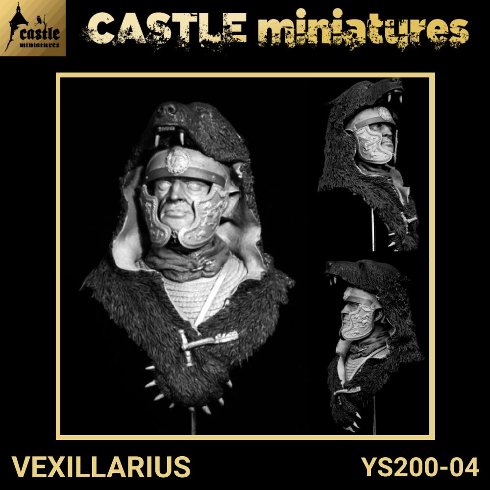 Figurine miniature à peindre  Vexillarius Vexillarius Vexillarius  - YS200-04 Castle miniatures 495260