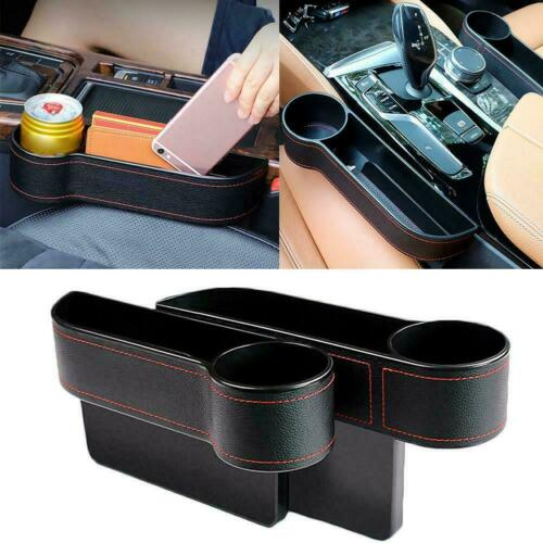 Car Seat Crevice Box Storage Cup Drink Holder Organizer Gap Stowing Pocket Y2I7