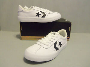 8266b51ca2c Image is loading Kids-Youth-Converse-Breakpoint-Leather-Sneakers -658205C-White-