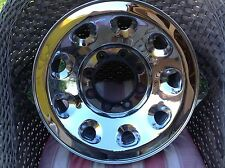 "Ford Super Duty F250 F350 OEM 16"" CHROME CladSteel Wheel OEM Rim 99 04 B+ grade"