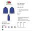 Mens-Fruit-Of-The-Loom-Full-Zip-Fleece-Jacket-Pill-Resistant-Breathable-Workwear thumbnail 2