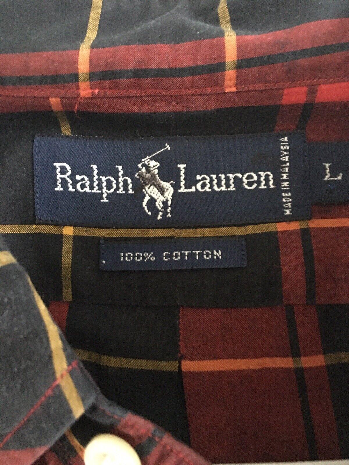 Preppy 1980's vintage ralph lauren button down po… - image 3