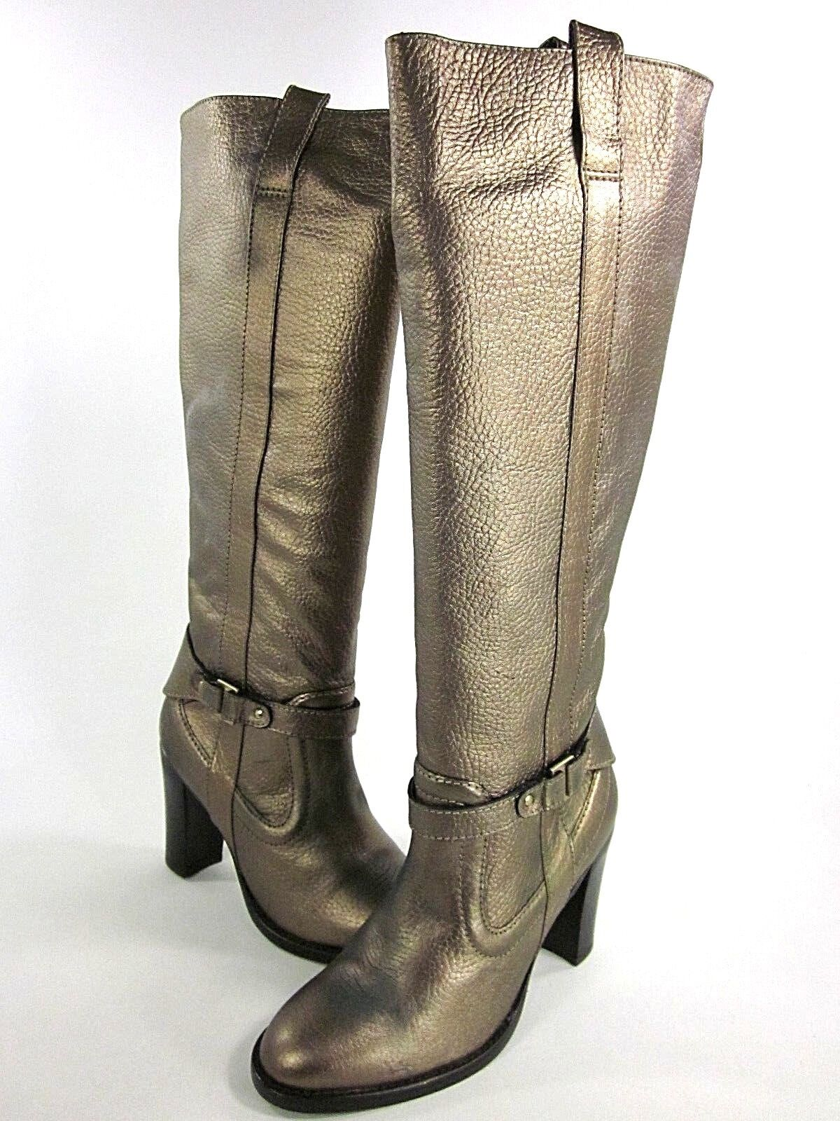 TED BAKER LONDON Donna DANA BOOT GOLD LEATHER US 8
