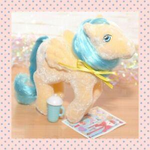 ❤️My Little Pony MLP G1 Vtg 1985 So Soft Bouncy Flocked Pegasus Beach Ball❤️