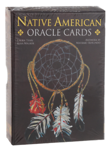 Native-American-Oracle-Tarot-CARD-DECK-Booklet-Lo-Scarabeo
