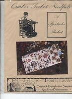 Primitive Traditions: Quaker Pocket Needfuls - Spectacles Pocket