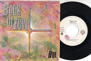 BOOK OF LOVE disco 45 giri MADE IN ITALY 1985 BOY stampa ITALIANA - Italia - BOOK OF LOVE disco 45 giri MADE IN ITALY 1985 BOY stampa ITALIANA - Italia