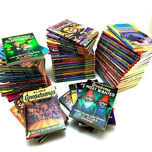 Lot-Of-60-Goosebumps-Books-RL-Stine-Mixed-Collection-Rare-and-Vintage-Sets