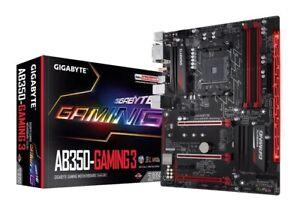GIGABYTE-GA-AB350-GAMING-3-MAINBOARD-ATX-AM4-4x-DDR4-M2-S-ATA-USB-3-1-HDMI-DVI-D