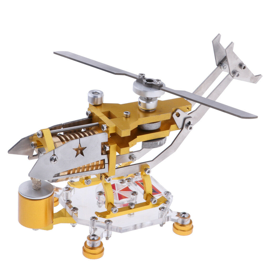 New 300-1000RPM redor redating Helicopter Stirling Engine Motor Power Model