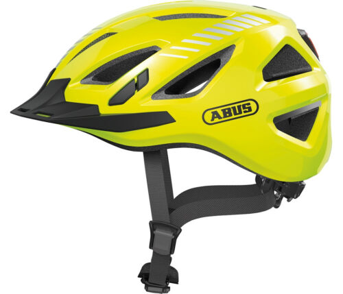 Size XL Signal Yellow Hi Viz ABUS URBAN-I 3.0 Cycling Helmet