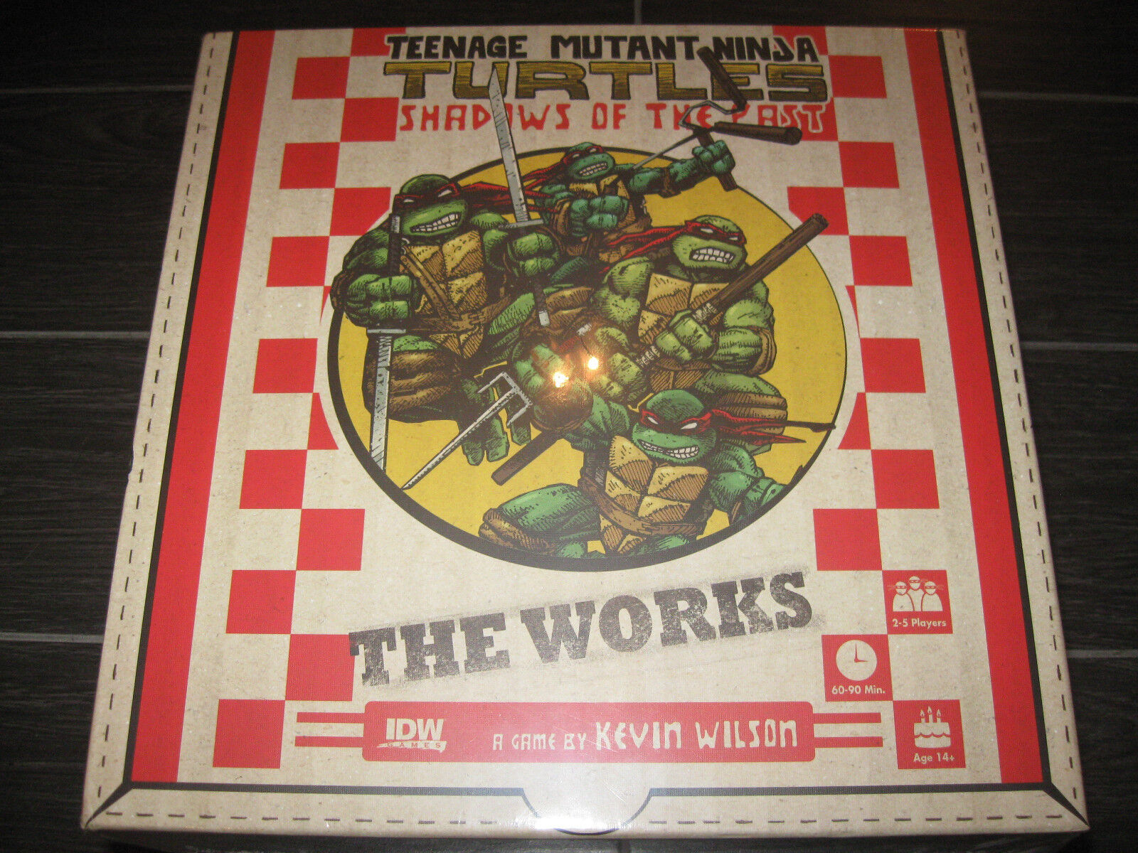 Teenage Mutant Ninja Turtles Teenage Mutant Ninja Turtles Shadows of Past The Works pédale de démarrage Gage