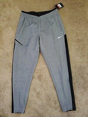 Nike Dri Fit Therma Gray Basketball Pants AQ2715 060