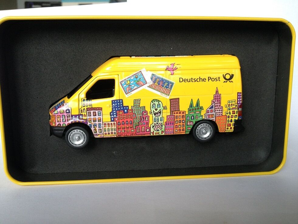 1 43 Mercedes Sprinter Deutsche Post James Rizzi Metal scatola