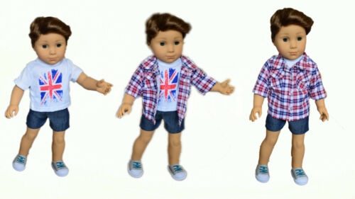 18 Inch Boy Doll Clothes My Brittany/'s British Band for American Girl Boy Dolls