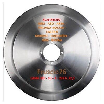 3-254 h NOAW 22,5 LAMA 300-40 LAMA ACCIAIO AFFETTATRICE mm 300  30 cm