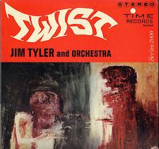 "JIM TYLER ""TWIST"" BIG BAND TWIST JAZZ 60'S LP TIME S2053 KING CURTIS /K. BURRELL"
