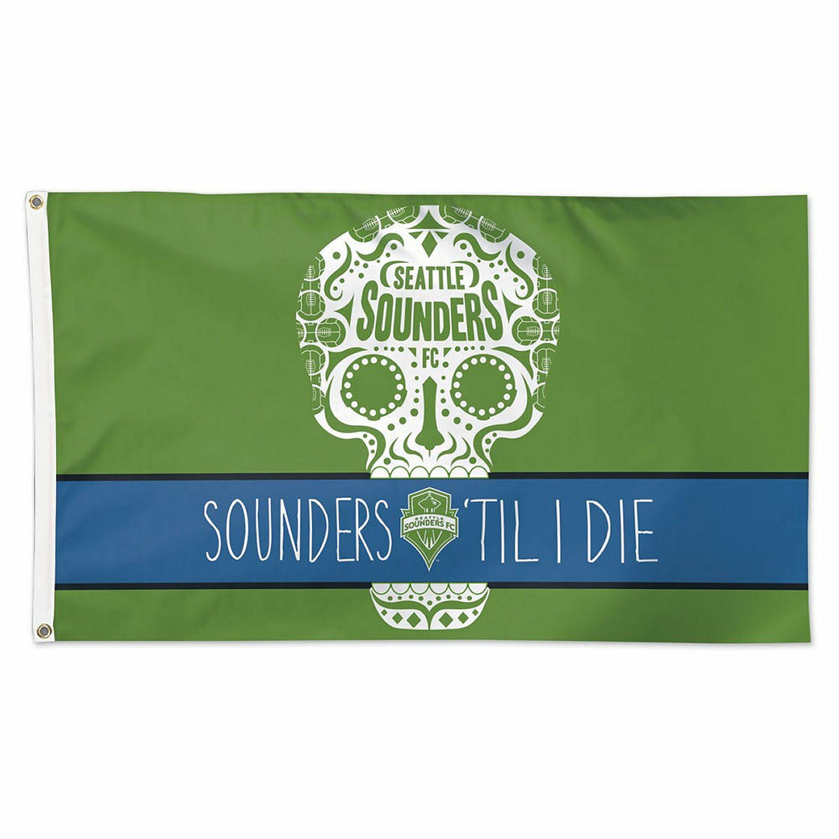 3 x 5 WinCraft Soccer Seattle Sounders 06915115 Deluxe Flag