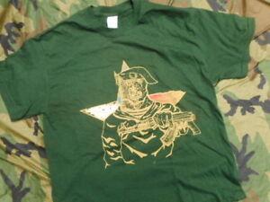 Russian Spetznaz Ussr Sf Special Forces T Shirt Soviet Green Para