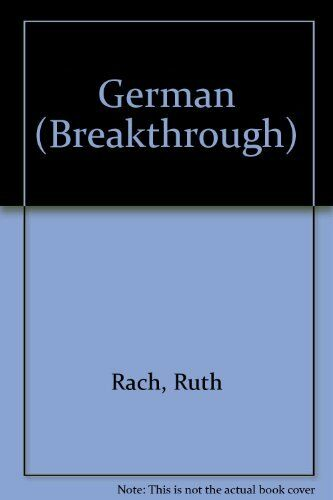 German (Breakthrough) By Ruth Rach