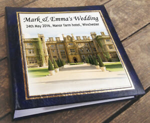 "200 x 7x5/"" photos Personalised large photo album Wedding Engagement present"