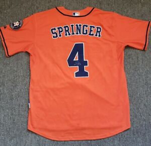 a57c909b498 Image is loading GEORGE-SPRINGER-signed-autographed-HOUSTON-ASTROS-Jersey- 2017-