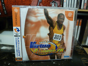 Virtua-Athlete-2K-2000-Brand-New-Factory-Sealed-Japan-Dreamcast-DC-Import-Game