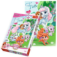 Trefl 100 Piece Kids Girls Disney Princess Pony Horses Jigsaw Puzzle NEW
