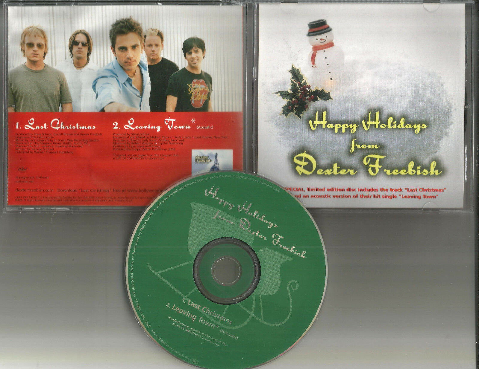 dexter freebish last christmas xmas acoustic promo dj cd single wham trk ebay - Last Christmas Original