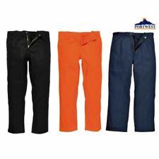 Mens Flame Resistant Work Trousers Portwest Bizweld Fire Retardant Pants Welding