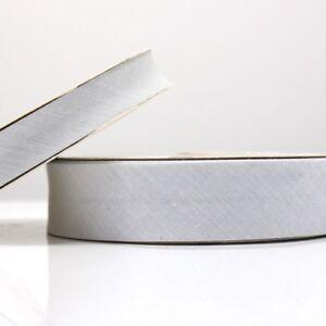 Bleu Pâle Vichy Fixation en Biais 30mm Tissu Coton Pliable Bordure