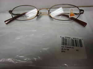Eyeglass Frame Bender : NICKELODEON NIC AVATAR AIR BENDER POWER BROWN 45-18-125 ...