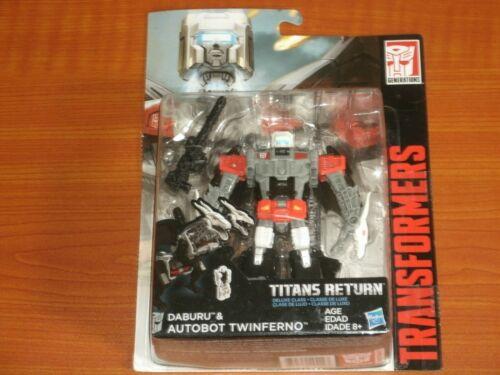 TRANSFORMERS /'Hasbro Action Figures/' TITANS RETURN Autobots Decepticons Robots