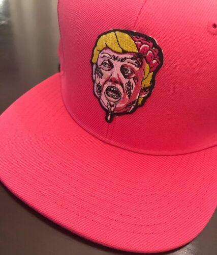 Higher Knowledge Zombie Trump SnapBack   Bape BBC Diamond Retro HK