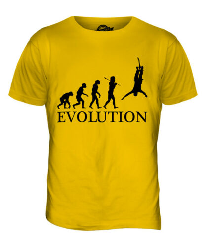 BUNGEE JUMP EVOLUTION OF MAN MENS T-SHIRT TEE TOP GIFT CLOTHING