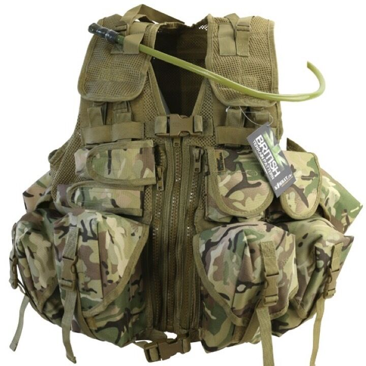 CLEARANCE  ULTIMATE ASSAULT CHEST WEBBING VEST BTP MTP CAMO ARMY