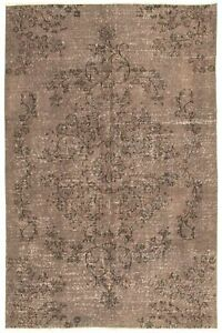Hand-knotted-Turkish-Carpet-5-039-0-034-x-7-039-10-034-Color-Transition-Transitional-Wool-Rug