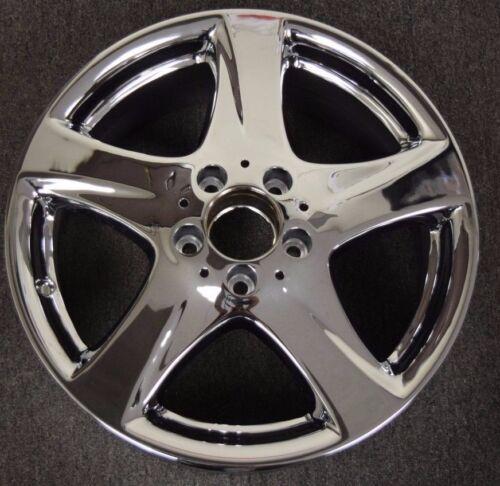 Mercedes S430 S500 04 05 06 OEM Wheel Rim 17in Chrome 65328 2204014202