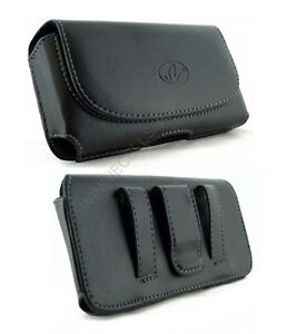 Leather-Belt-Clip-Case-Pouch-for-Cell-Phones-COMPATIBLE-WITH-Otterbox-Defender