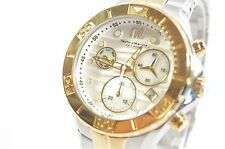 TECHNOMARINE TM-715020 MEN'S TWO TONE SEA PEARL CHRONOGRAPH WATCH