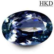 2.74 cts HKD-Certified Natural Oval-cut Bluish-Violet VVS Tanzanite (Tanzania)
