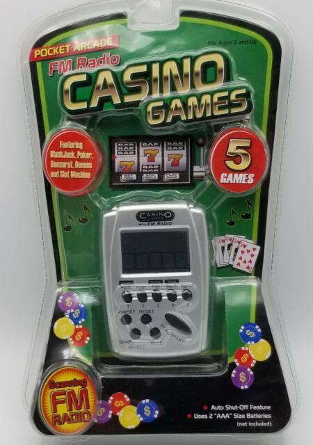 Casino Games Handheld