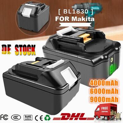 4000mAh 6000mAh 9000mAh 18Volt LXT Li-ion Akku Für Makita BL1830 BL1840 BL1860
