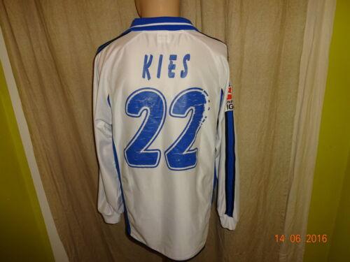 KARLSRUHE SC Original JAKO manches longues matchworn maillot 2003/04 + Nº 22 Gravier Taille M/L